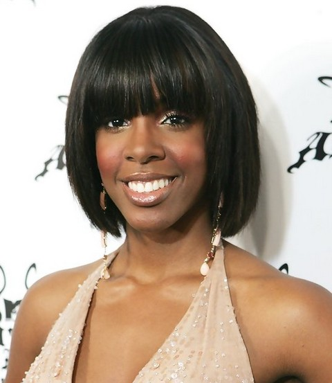 Kelly-Rowland-Hairstyles-Lovely-Short-Bob-with-Bangs
