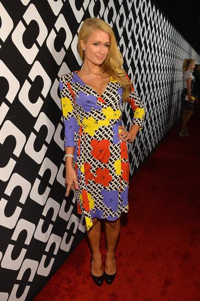 Paris+Hilton+Dresses+Skirts+Print+Dress+UHb9B5Pb6LBl