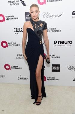 Gigi+Hadid+Arrivals+Elton+John+AIDS+Foundation+cNzRmt2E4t3x
