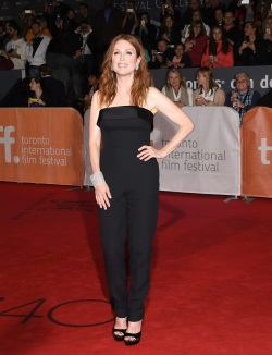 Julianne Moore arrives at the _Freeheld_ Prem_0014