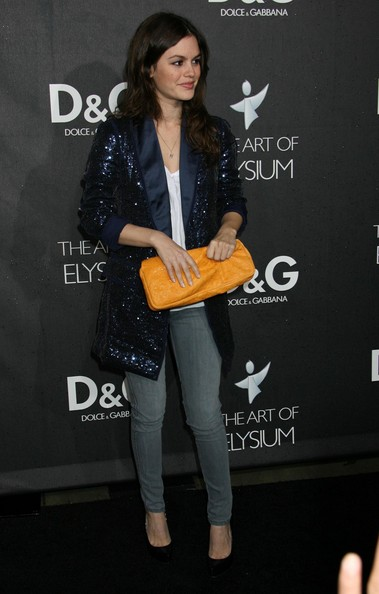 Rachel+Bilson+Clutches+Leather+Clutch+-M2u05Zx3Edl